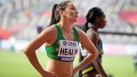 Phil Healy eliminated from 200m at World Championships