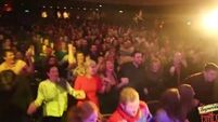 Check out the crowd going mad for some Irish dancing at the Improvised panto in Cork