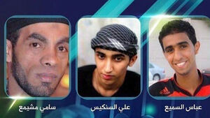 Execution of three men in Bahrain sparks protests and condemnation