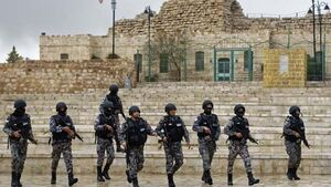 Tourists 'hid in castle' during deadly Jordan shootings