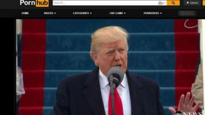 Donald Trump's inauguration speech uploaded to adult website