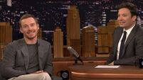 Michael Fassbender gave this Irish band a massive shout out on Jimmy Fallon