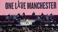 The clip of a policeman dancing at the #OneLoveManchester concert has Twitter in tears