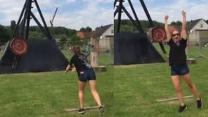 WATCH: Ireland competes in the World Axe Throwing Championship for the first time ever