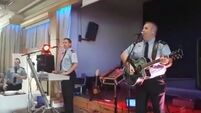 Gardaí in Clonmel played at a local tea dance and it look like great craic