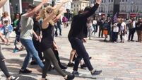 Here's why a group of dancers took over the main street of Cork City today