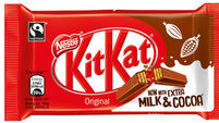 KitKat adds extra milk and cocoa in drive to reduce sugar