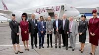 Qatar Airways launch new direct flight from Doha to Dublin
