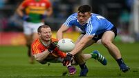 Dublin made to work but eventually  overcome a dogged Carlow