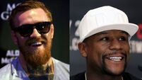 Mayweather v McGregor: Watch as the hype begins with fighters' face-off in LA