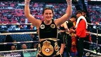 Katie Taylor wins first professional belt after beating Nina Meinke