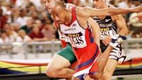 IAAF provisionally suspends four-time Olympic champion Frankie Fredericks