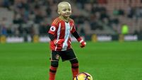 Soccer fans wear team kits for cancer charity in honour of Bradley Lowery