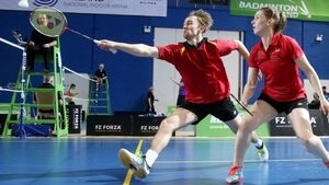 Chloe and Sam Magee win badminton gold in Spain