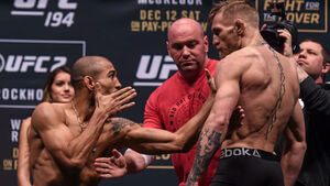 Jose Aldo: 'Two-faced' Conor McGregor not willing to face challengers