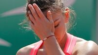 Fourth seed Simona Halep suffers shock first round defeat in Melbourne