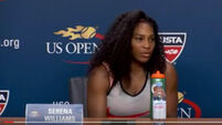 Top seed Serena Williams crashed out of ASB classic to Madison Brengle