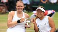 Jordanne Whiley and Yui Kamiji File Photo