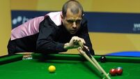 Neil Robertson knocked out of World Grand Prix by Barry Hawkins