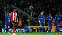 More misery for Moyes as Sunderland lose at Leicester