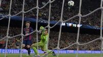 Messi scores twice as Barca return to top of La Liga