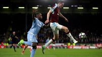 Burnley ease relegation fears with win over Stoke