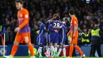 Chelsea get over Palace blip to continue march to title