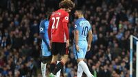 Jose Mourinho: Fellaini dismissal 'a bit of a red card'