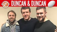 Duncan & Duncan Rugby:  Sherry's dream career and injury nightmare. Hidden talent in the AIL