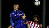 Shane Griffin's wonder strike gives Derry the blues