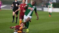 Cork City's young rebels bow out of Europe after narrow loss at Roma
