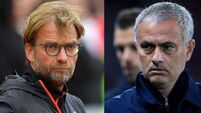 Jurgen Klopp and Jose Mourinho File Photo