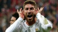 Sergio Ramos at the double as Real Madrid open four-point lead at La Liga summit