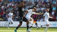 Llorente's late strike sees Swansea overcome West Brom