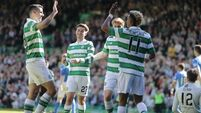 Brace from Patrick Roberts, on loan from Man City, helps Celtic extend unbeaten run
