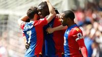 Palace win sends Hull out of Premier League