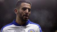 Riyad Mahrez has reportedly asked to leave Leicester
