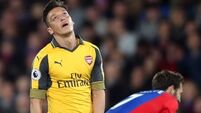 The Eagles land a major blow to Arsenal's top four hopes