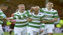 Celtic thrash Partick Thistle 5 nil at Firhill