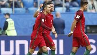 Portugal coast to Confederations Cup semi-finals while hosts Russia are knocked out