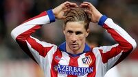 Fernando Torres taken to hospital after suffering 'head trauma' during game