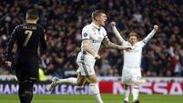 Real Madrid in control after 3-1 win over Napoli