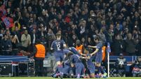 Barca on the brink as PSG score four; Benfica edge Dortmund