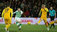 Tom Rogic leaves it late to spare Celtic blushes at Livingston