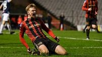 Kris Twardek strike ensures Bohemians clinically punish Sligo