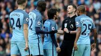 FA charge Man City with failing to control their players against Liverpool