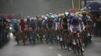 Marcel Kittel wins dramatic Tour de France stage after favourites crash in the rain
