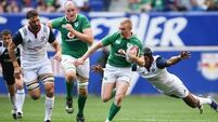 Ireland ease to nine-try win over USA