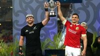 Match in 60 seconds: The Lions have drawn with New Zealand in dramatic deciding test
