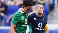 Joey Carbery a concern for Ireland